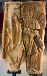 The Lichfield Angel, on loan from Lichfield Cathedral.