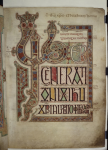 The Lindisfarne Gospels (The British Library).