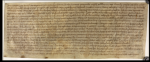 The oldest letter written in England (The British Library).