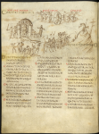 The Utrecht Psalter, on loan from Universiteitsbibliotheek, Utrecht.