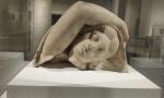 Head of sleeping Ariadne.