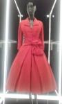 Dior Écarlate (scarlet) dress autumn/winter 1955.