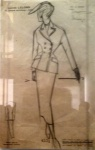 Dior Sketch Tailleur.