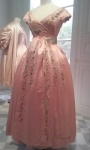 Dior silk dress 1955.