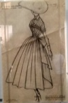 Dior sketch summer dress.