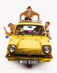 6. Tom Bennett: Del Boy, Paul Whitehouse: Grandad, Ryan Hutton: Rodney, credit - Trevor Leighton.