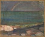 Edvard Munch. Regnbuen. Credit: Munchmuseet.