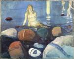 Edvard Munch. Sommernatt. Havfrue 1893. Credit: Munchmuseet