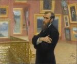 Ilja Repin. Portrett av Pavel Tretjakov. Credit: Munchmuseet