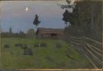 Isaak Levitan. Skumring. Credit: Munchmuseet