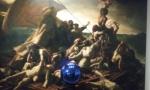 Gazing Ball ( Gericault Raft of the Medusa), 2014-15.