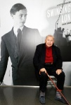 Sir Terence Conran attends the opening of Swinging London A Lifestyle Revolution. Copyright Fashion and Textile Museum.