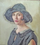 Antonio Barrera, Portrait (1929).