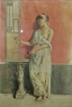 Augusto Bompiani, Pompei Style figure (1901).