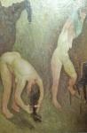 Mario Mafai, Women undressing (1934).