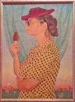 Ildebrando Urbani, Walking with an ice-cream (1941).
