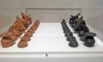 Max Ernt, Chess Set, 1944.