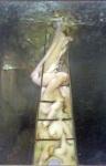 To climb a ladder, 1987.
