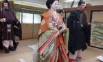 ceremonial costumes.