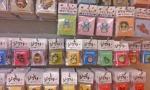 Studio Ghibli pin brochures.