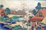 Katsushika Hokusai, Ono no komachi.