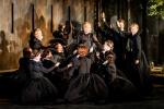 Ruxandra Donose Princess Eboli and Chorus. Credit: Robert Workman