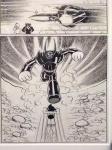 Astro Boy fighting evil .