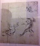 Copy of Handscrolls of Frolicking Animals .