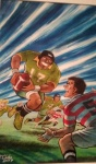 manga and rugby.