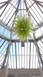 Chartreuse Hornet Polyvitro chandelier.