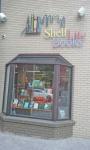 Shelf Life bookshop.