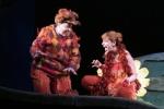 Aoife Miskelly as Vixen Lucia Cervoni as Fox The Cunning Little Vixen Photocredit Richard Hubert Smith 9771.