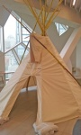 Central Library, tepee.