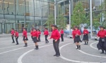Street performance.