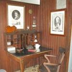 Stephansson's desk.