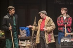 Peter Baker (Trigger), Peter Baker (Del Boy), Ryan Hutton (Rodney). Photo Credit Johan Persson