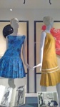 Party dress and Pinafore pleats (1959-1960).