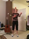 Juggling at home pic credit Lost in Translation.