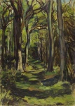 Duncan Grant, The Glade, Firle Park, 1943. ©Estate of Duncan Grant. All rights reserved, DACS 2020. Towner Eastbourne