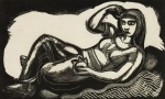 Leon Underwood, Woman of Tehuantepec, 1928. ©The Artist's Estate. Towner Eastbourne.