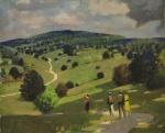 George Henry, Landscape, undated. Towner Eastbourne.
