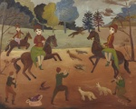 Ilsa Rodmell, The Chase, The Hunt, undated. ©The Artist's Estate. Towner Eastbourne.