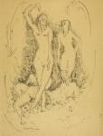 Phelan Gibb, Four Nudes in a Landscape, 1910. Towner Eastbourne.