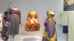 Kabuki dress (Rudi Gernreich), Cocktail dress and bolero jacket (Yves Saint Laurent), Evening dress (Yamawaki Toshido).