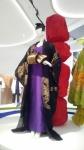 Kimono coat, dress and obi, Junko Koshino.