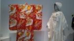 Kimono ensemble for a bride.