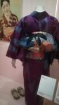 Kimono made from meisen (long-lasting silk fabric).
