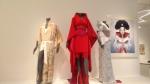 Kimono owned by Freddie Mercury_  kimono ensemble for Madonna (Jean Paul Gaultier)_ kimono and picture for Bjork's 1997 album Homogenic.