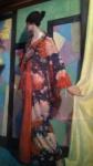 Kimono study, William McCance.
