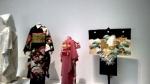 modern kimono ensemble.